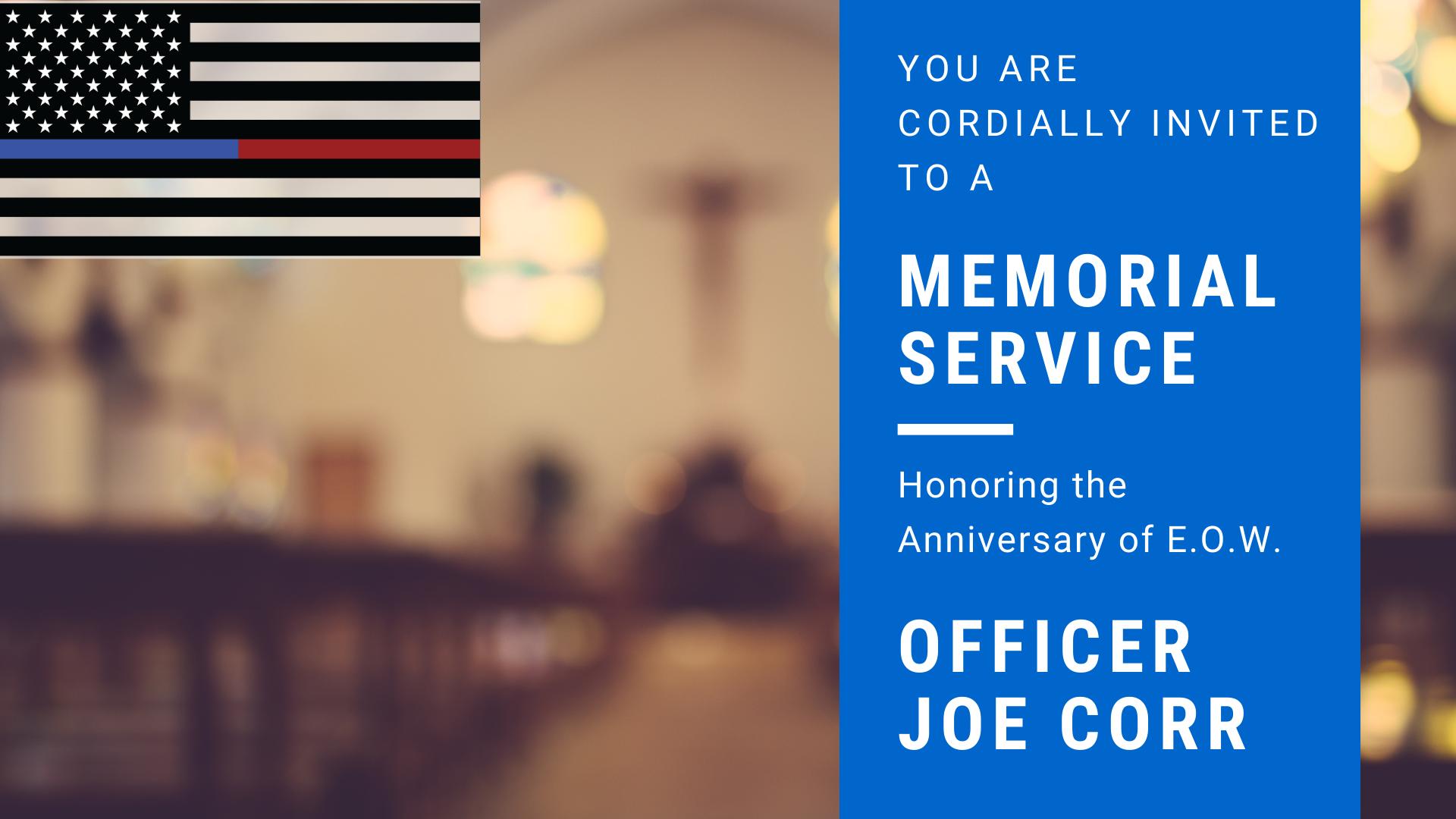2021 Memorial Service Invitation